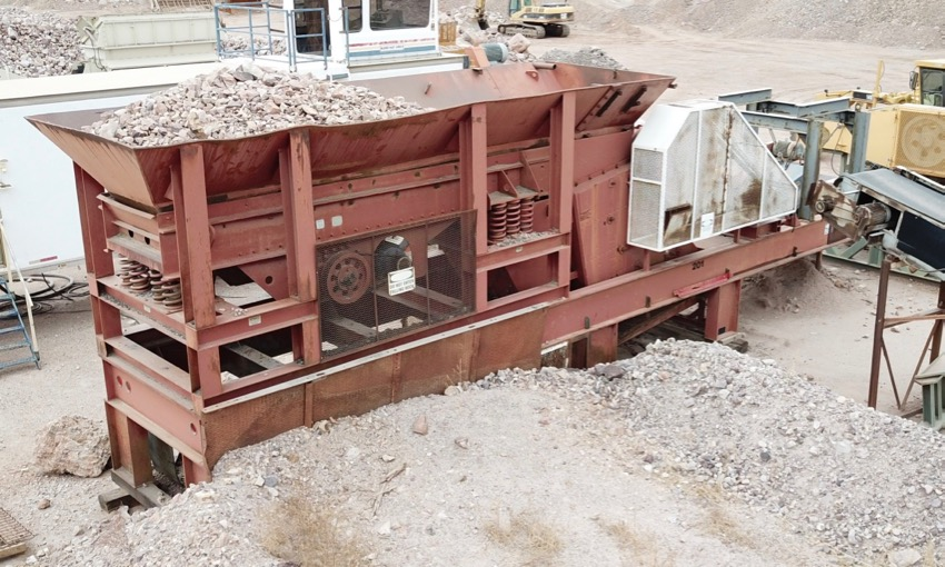 USED Pioneer 30/36×42 Portable Jaw Crusher Plant