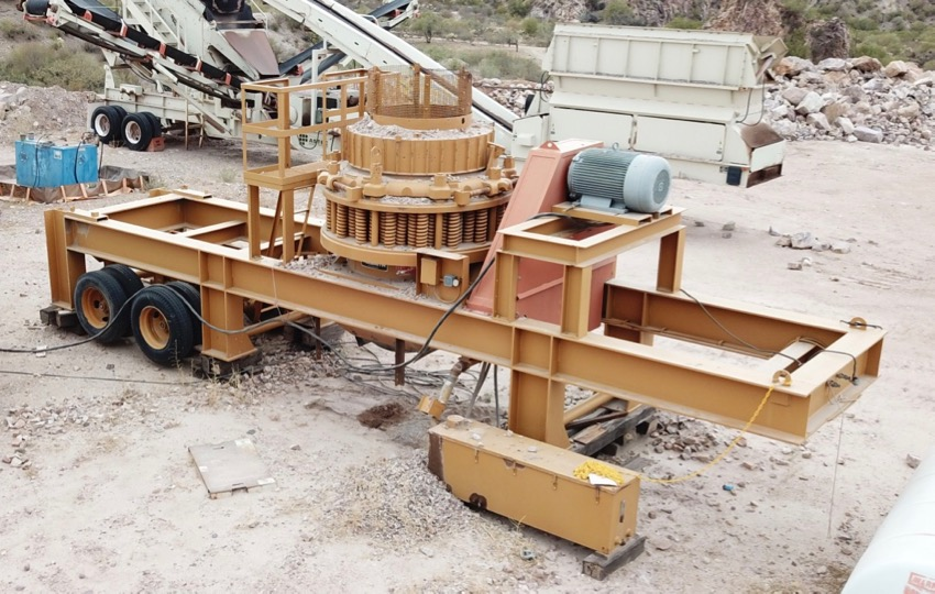"Reconditioned Portable 48S Telsmith ""D-Series"" Standard Cone Crusher"