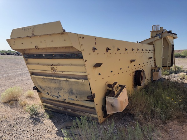 Allis-Chalmers 6 x 20 3-Deck Incline Screen