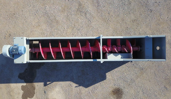 Drone image of Gator 36x18 Coarse Material Washer.