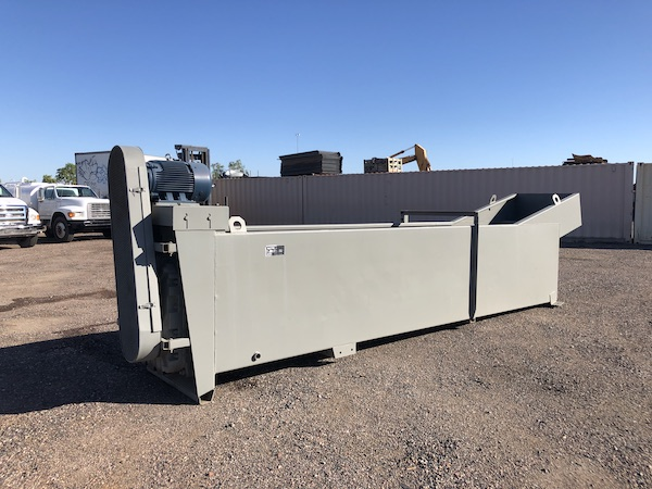 Ground level view front left of Gator 36x18 Coarse Material Washer.