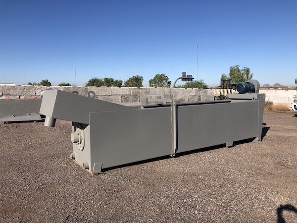 Ground level view rear right of Gator 36x18 Coarse Material Washer.