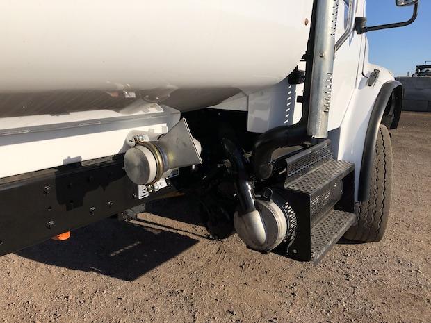 2009 Freightliner M2 106 4,250 Gallon Water Truck. Passenger side spray nozzle.