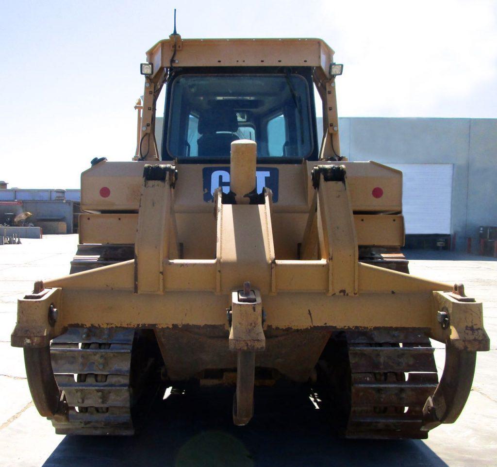 2012 CAT D6T XL. Rear center view. 3 Shank Ripper.