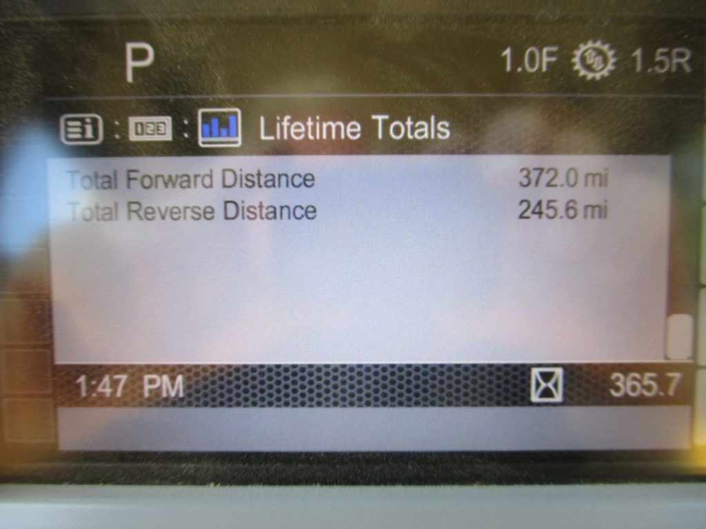 2017 CAT D6T XL. Distanced travelled.