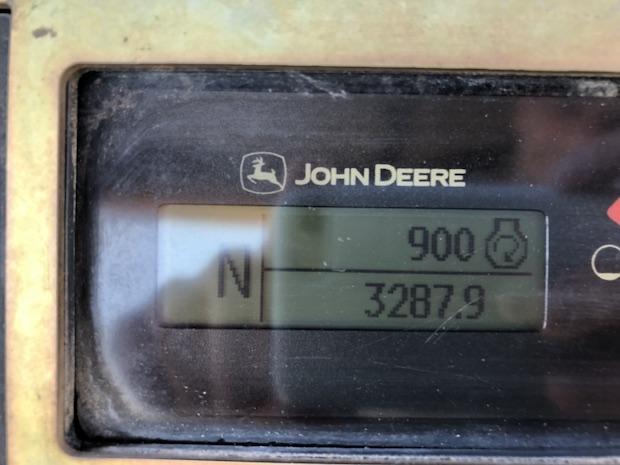 2013 John Deere 310K EP with Extend-a-hoe. Hour meter.