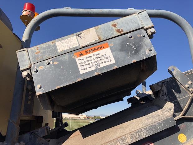 """2006 Komatsu BR380JG. Track Mounted Jaw Crusher.  Magnetic Separator: 35"""" wide"""
