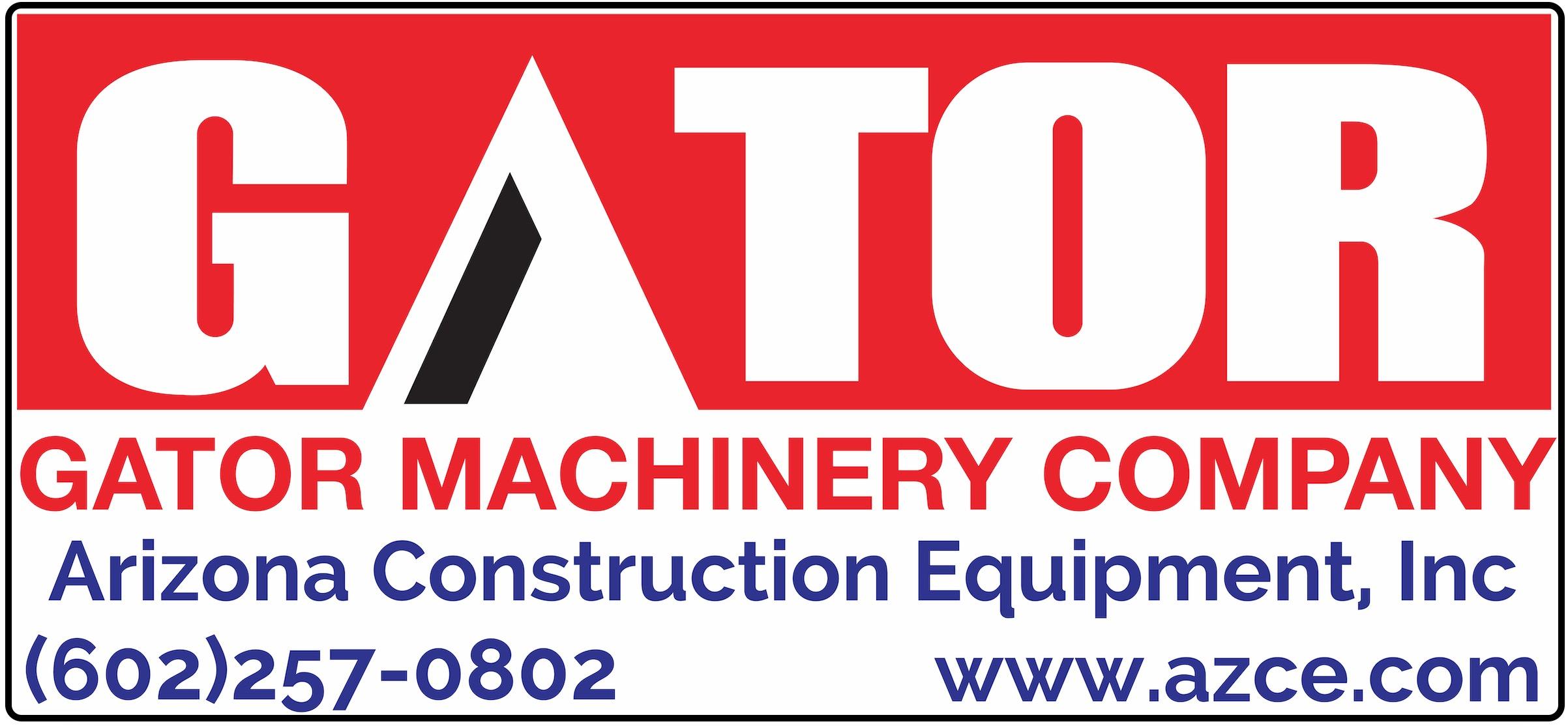 Gator Machinery Company and Arizona Construction Equipment, Inc.
