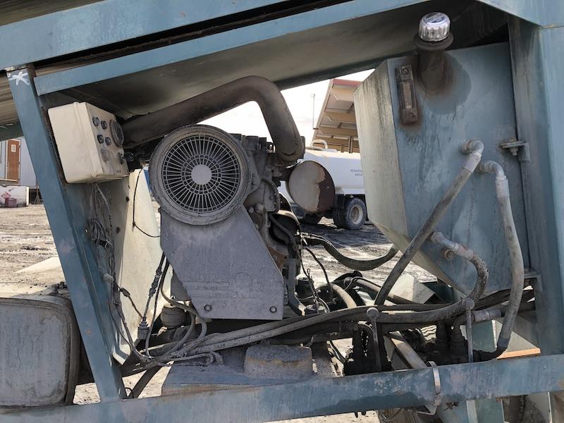 Powerscreen MK II. Diesel engine.