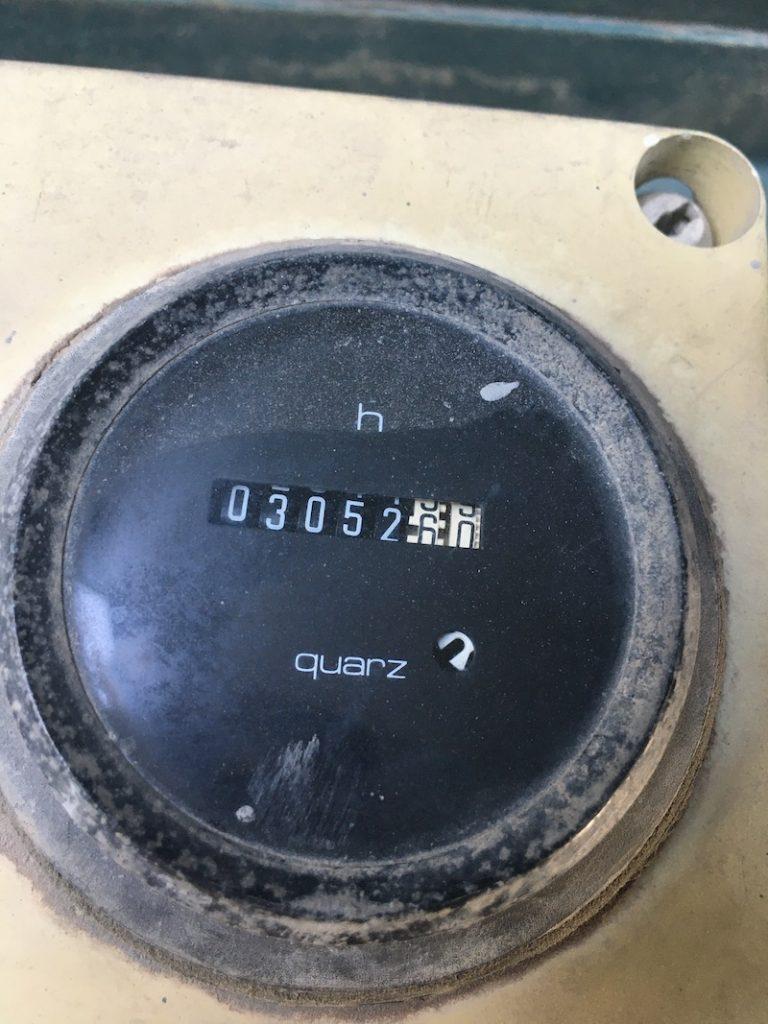 Powerscreen MK II. hour meter.