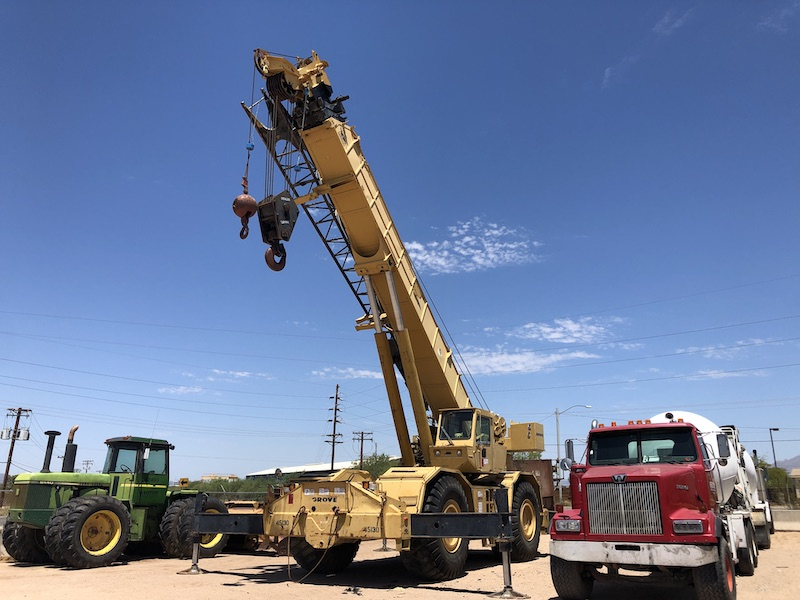 1981 Grove RT980, 80 TON Rough Terrain Crane
