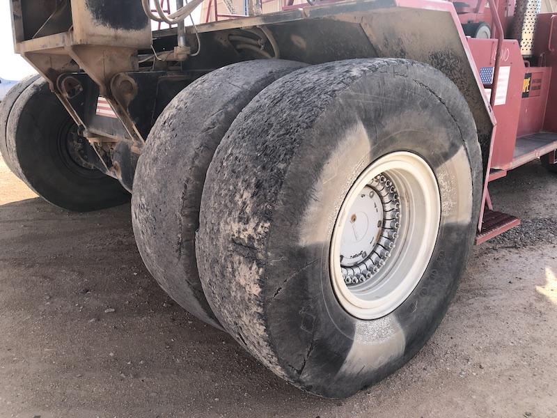 1994 Taylor TEC950L. Front left tires.
