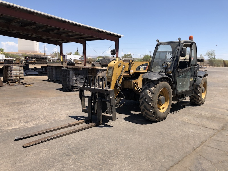 2012 CAT TH407 Telehandler Forklift