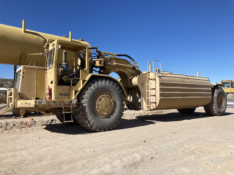 1976 CAT 633D 10,000 Gallon Water Wagon, Unit 10420