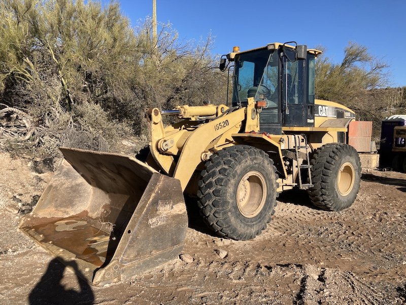 2003 CAT 938G Series II, Unit 16520