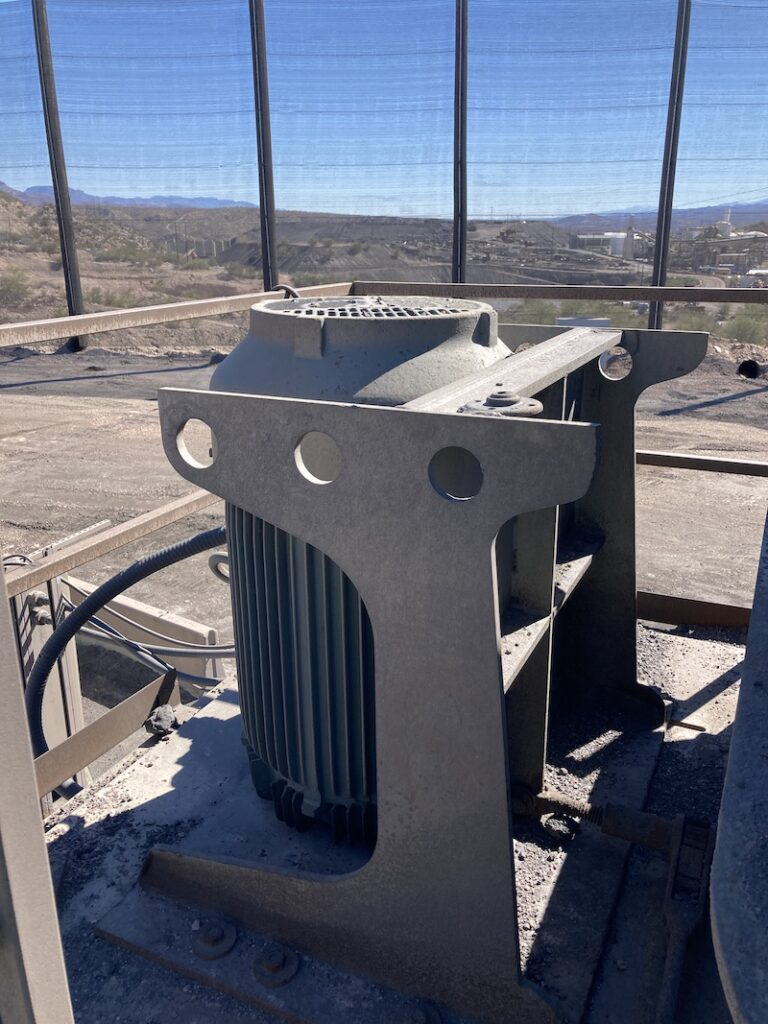 REMco 9000 SandMax Vertical Shaft Impact Crusher. Two of two 200HP electric motors.
