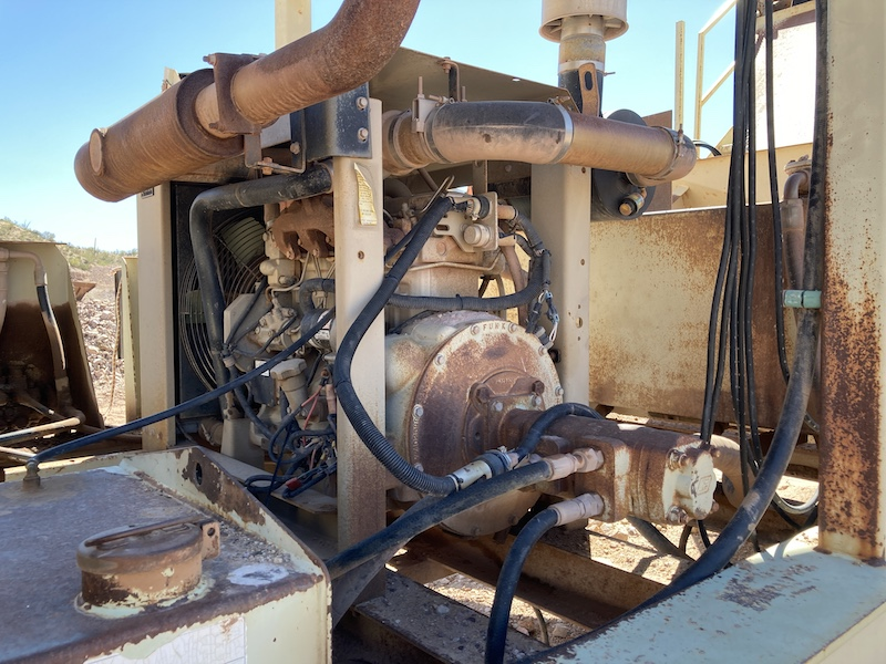 2004 Astec2612D Fold-N-Go Portable Screening Plant. John Deere diesel engine.