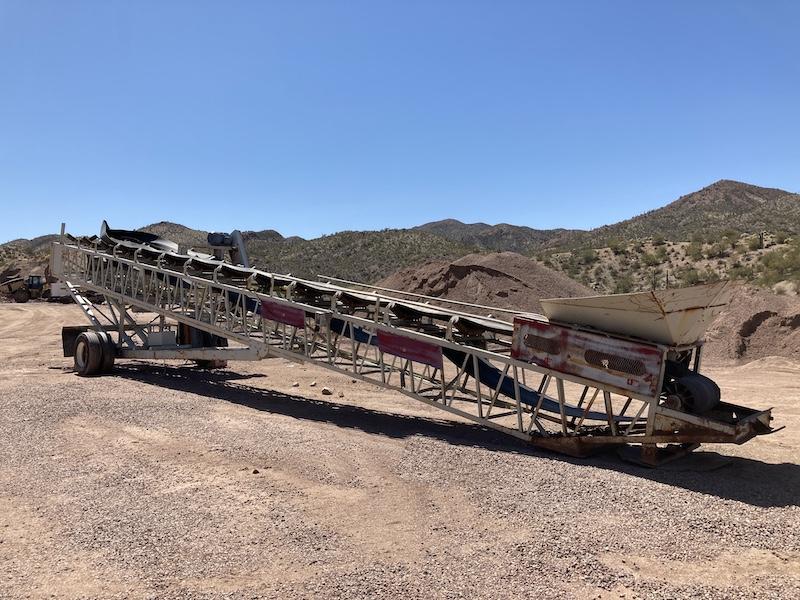 2003 Dakota 36″x80′ Radial Stacking Conveyor