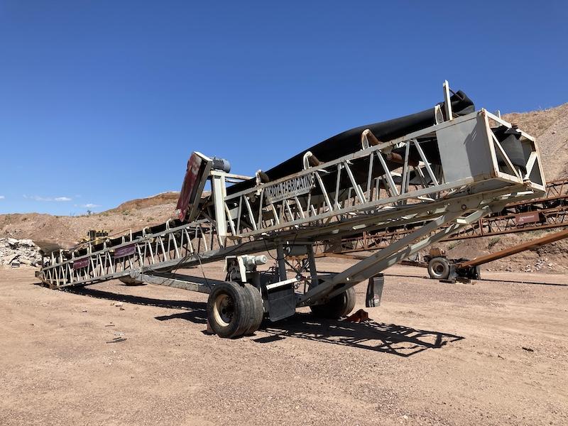 Radical Stacking Conveyor.