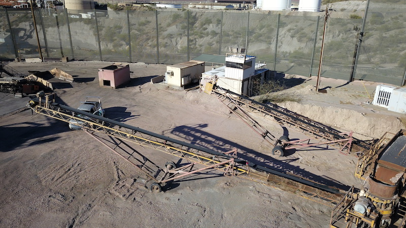 """24""""x80' stacking conveyors."""