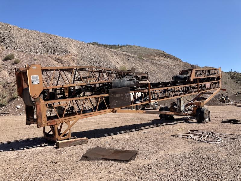 Kolberg 30″x100′ Radial Stacking Conveyor