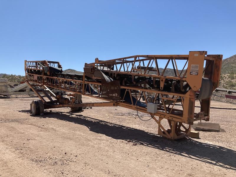 Kolberg 30x100' Radial Stacking Conveyor 13