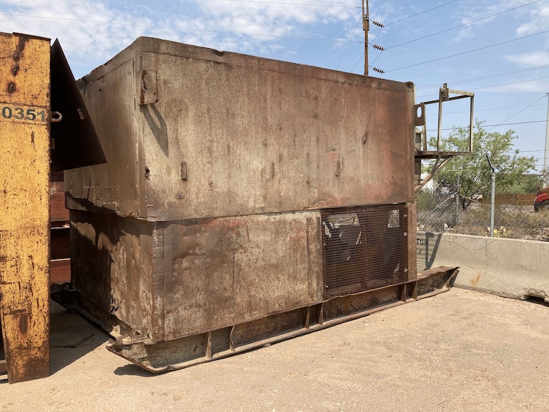 """Simplicity 4416 VGF. 44""""x16' Vibrating Grizzly Feeder. Skid Mounted."""